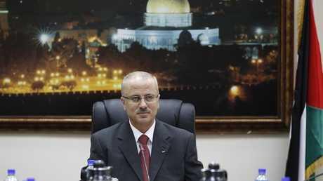 رئيس الوزراء الفلسطيني رامي الحمد الله - أرشيف