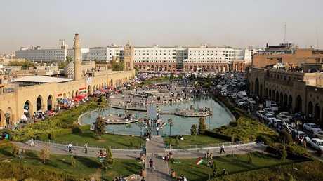 مركز مدينة أربيل شمال العراق - أرشيف