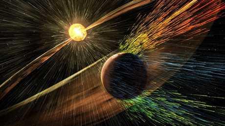 عاصفة شمسية ضخمة في طريقها إلى الأرض اليوم