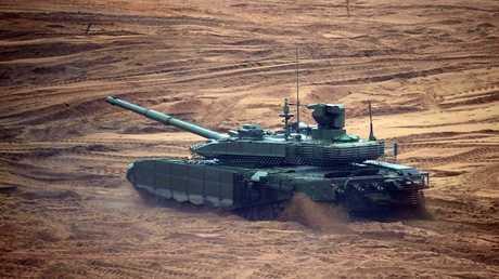 أرشيف - دبابة T-90C الروسية