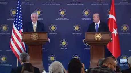 التزام تركي أمريكي بوحدة الأراضي السورية