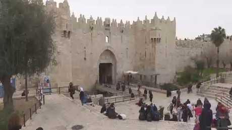 برج إسرائيلي في باب العمود