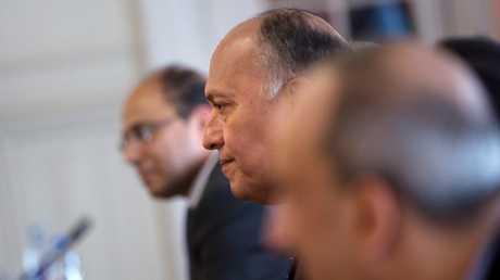 وزير الخارجية المصري سامح شكري- صورة أرشيفية