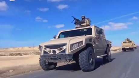 القوات المصرية تواصل عملية سيناء 2018