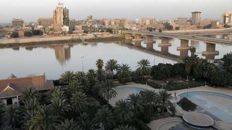 نهر دجلة في بغداد - أرشيف