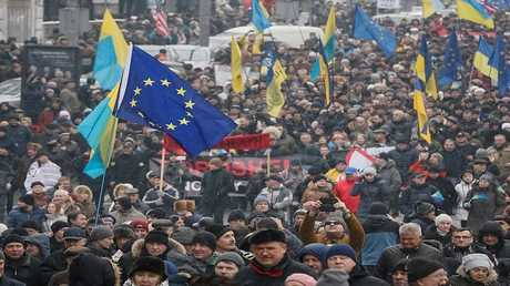 مظاهرات في كييف