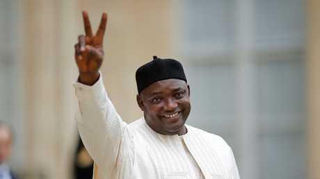 رئيس غامبيا أداما بارو