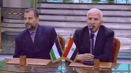 مشاورات وفد حماس في القاهرة