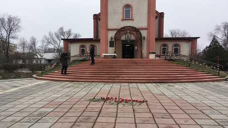 الكنيسة الأرثوذوكسية التي وقع فيها الهجوم الإرهابي