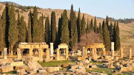 موقع مدينة هيرابوليس القديمة