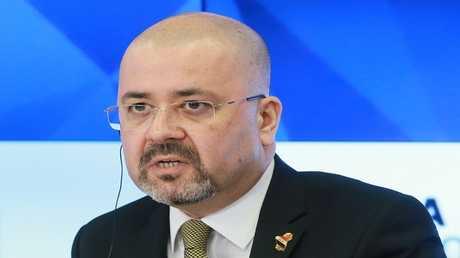 السفير العراقي في موسكو حيدر منصور هادي