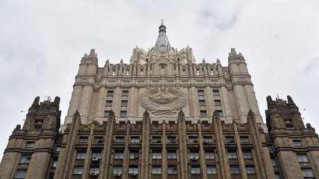 مبنى وزارة الخارجية الروسية - صورة أرشيفية -