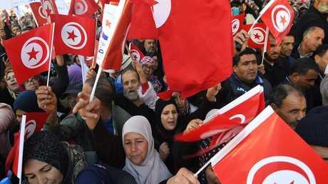أحتجاجات في تونس - أرشيف