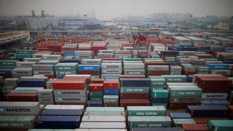 ميناء إنتشون في كوريا الجنوبية