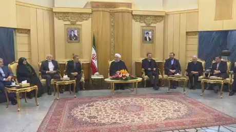 روحاني: إرسال صواريخ لليمن تهمة ملفقة