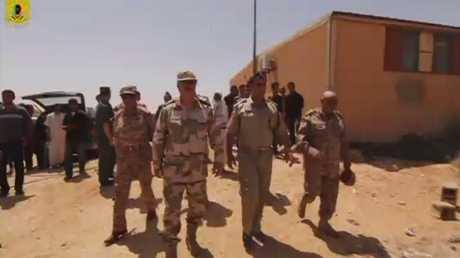 بحث سبل توحيد المؤسسة العسكرية الليبية