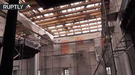 روسيا ترمم جامع الخان في القرم لأول مرة منذ بنائه في القرن الـ16