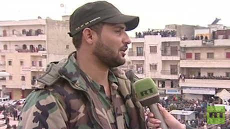 قائد القوات الشعبية السورية محمد الفرج