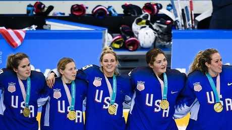 أولمبياد 2018.. أمريكا تتوج بذهبية مسابقة الهوكي على الجليد للسيدات