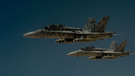 طائرات تابعة للتحالف الدولي المناهض لـ