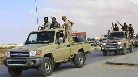 الجيش الوطني الليبي - أرشيف -