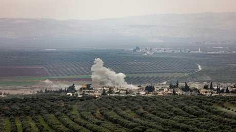 القوات التركية تقصف مواقع تابعة للأكراد - أرشيف -
