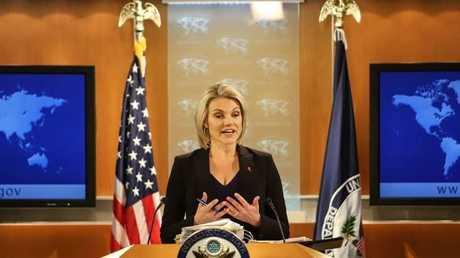 الناطقة باسم الخارجية الأمريكية هيثر نويرت