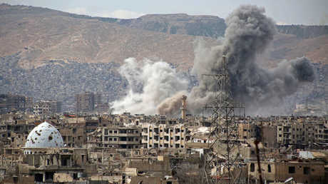 قتلى وجرحى في قصف نفذه المسلحون على مدينة دمشق وريفها