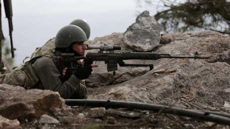 جنود أتراك - أرشيف