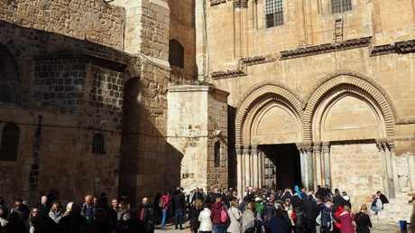 كنيسة القيامة، القدس، أرشيف