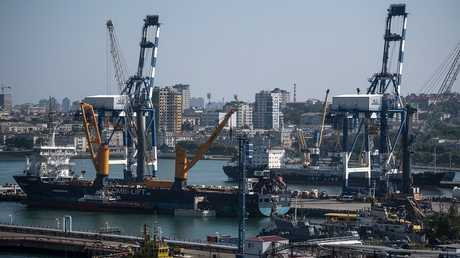ميناء نوفوروسييسك، روسيا، أرشيف