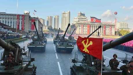 استعراض عسكري كوري شمالي - أرشيف -