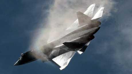 """المقاتلة الروسية """"سو-57"""""""