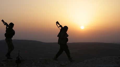 """القوات المشاركة في عملية """"غصن الزيتون"""""""