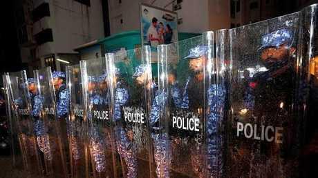 الشرطة المالديفية