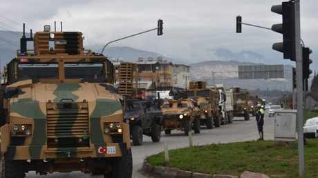 القوات التركية المشاركة في عملية عفرين، أرشيف