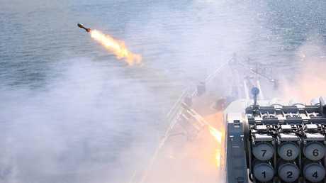 تدريبات القوات البحرية الروسية - صورة أرشيفية