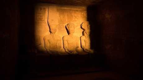تعامد الشمس على معبد أبو سمبل