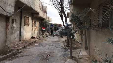 مخيم الوافدين في دمشق