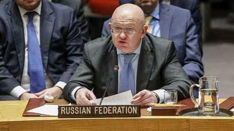مندوب روسيا الدائم لدى الأمم المتحدة فاسيلي نيبينزيا