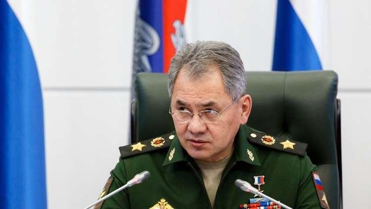 شويغو يطلع دي ميستورا على الوضع في الغوطة الشرقية