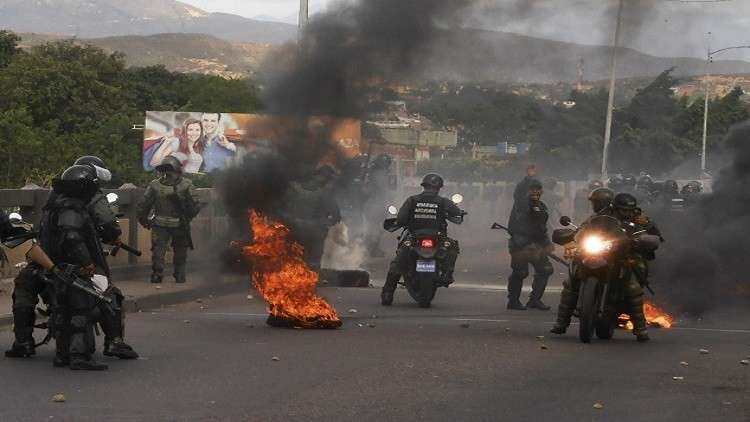 مقتل 7 أشخاص في اشتباكات على الحدود الفنزويلية الكولومبية