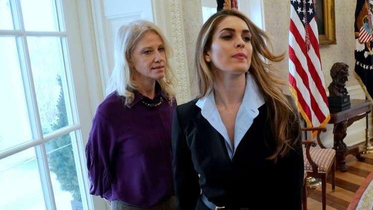 مديرة اتصالات البيت الأبيض تعتزم الرحيل