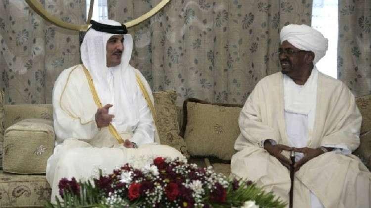 الرئيس السوداني عمر البشير يتلقى رسالة خطية من أمير قطر