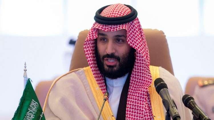 ولي العهد السعودي يبعث رسالة إلى الرئيس الفلسطيني