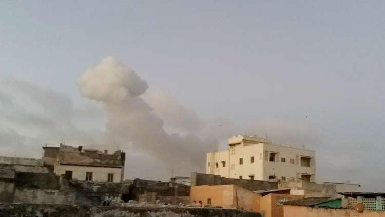 هجوم انتحاري بسيارة مفخخة على قاعدة للجيش في الصومال