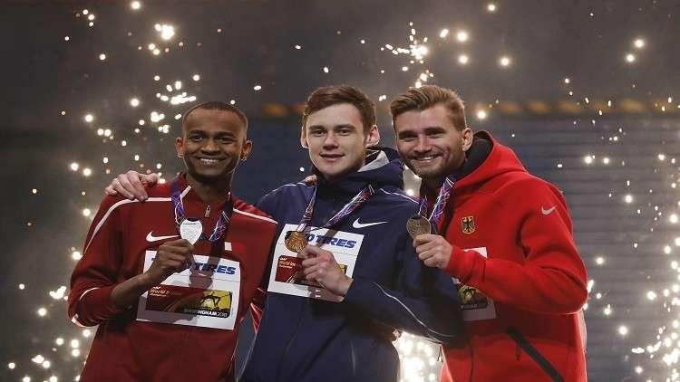 روسيا تحصد ذهبيتين في بطولة العالم لألعاب القوى