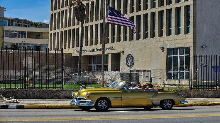 واشنطن تقلص عدد موظفي سفارتها لدى كوبا