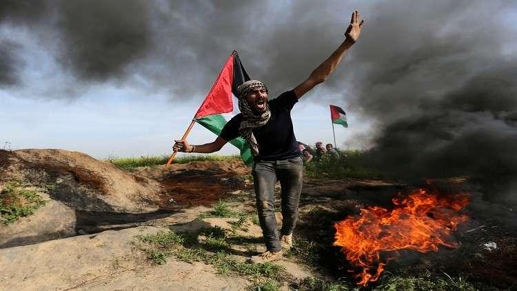 إصابة 15 فلسطينيا في مواجهات مع الجيش الإسرائيلي
