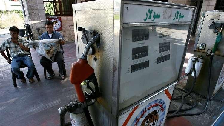 غزة تخفض سعر وقود المركبات